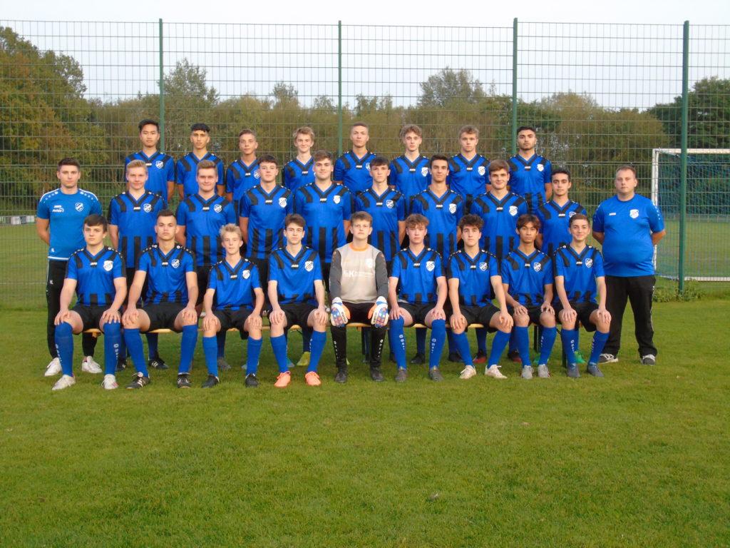 Die A2-Jugend des SV Hochlar 28
