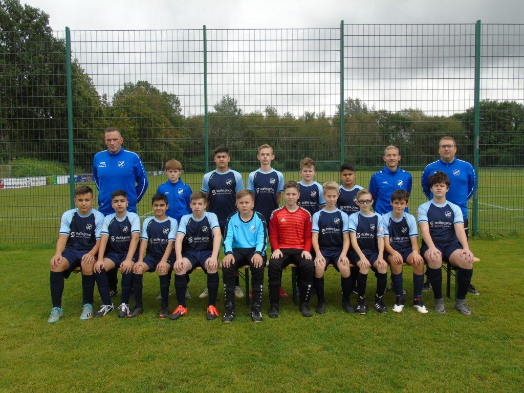 Die C-Jugend des SV Hochlar 28