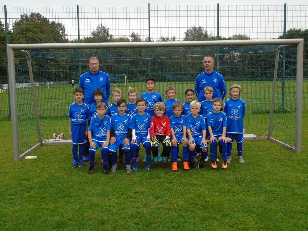 Die F2-Jugend des SV Hochlar 28